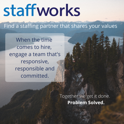 Find a staffing partner that shares your values